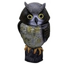 Owl Decoy Bird Scarer with Moving Head